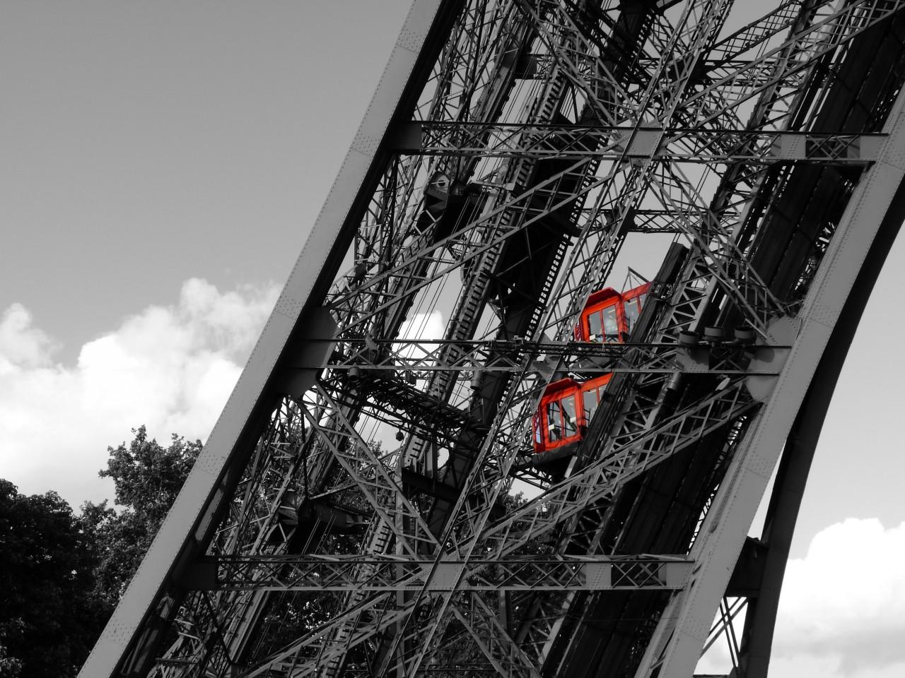 Ascenceur de la Tour Eiffel