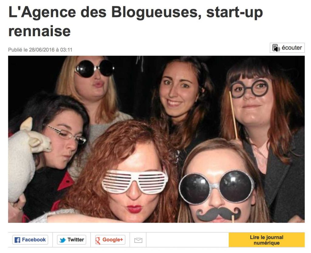 Mamzelle Laura - Agence des Blogueuses