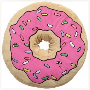Coussin Donut Simpson