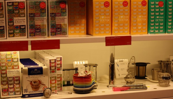 Coffrets et accessoires Kusmi Tea