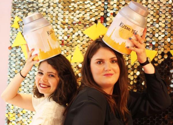 Juliette et Maëvane, blogueuses Rennaises à la soirée Kusmi Tea