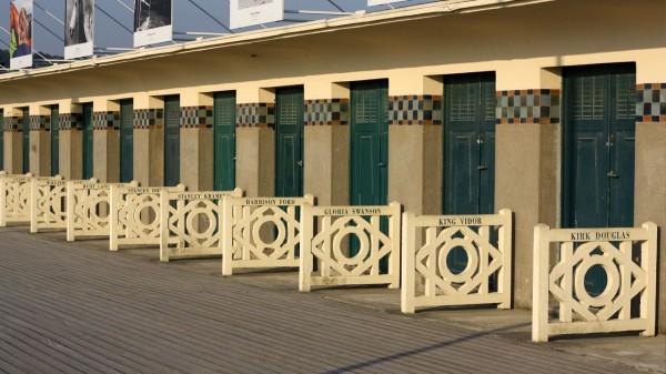 Les Planches de la plage de Deauville