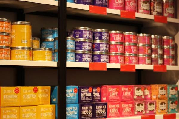 Boîtes de thé Kusmi