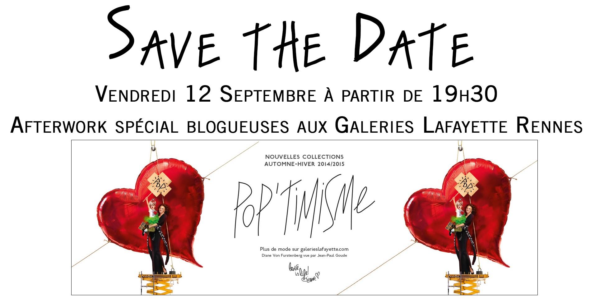 Soirée blogueuses aux Galeries Lafayette de Rennes