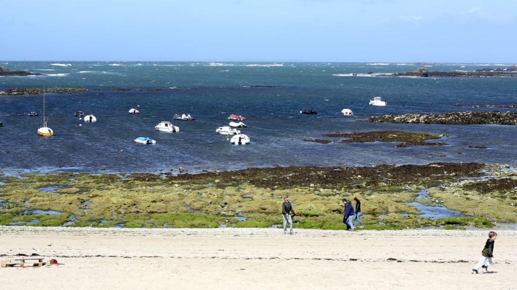 Bateaux dans la baie de Quiberon