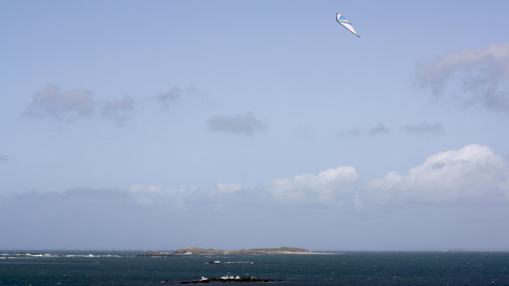 Cerf volant dans le ciel de Quiberon