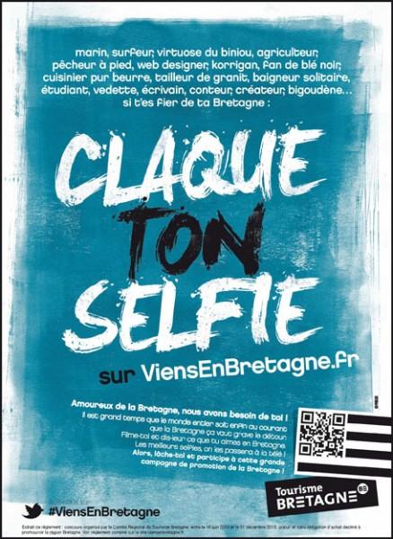 Claque ton selfie - Bretagne