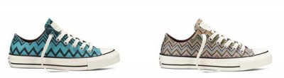 Converses basse de la collection Missoni