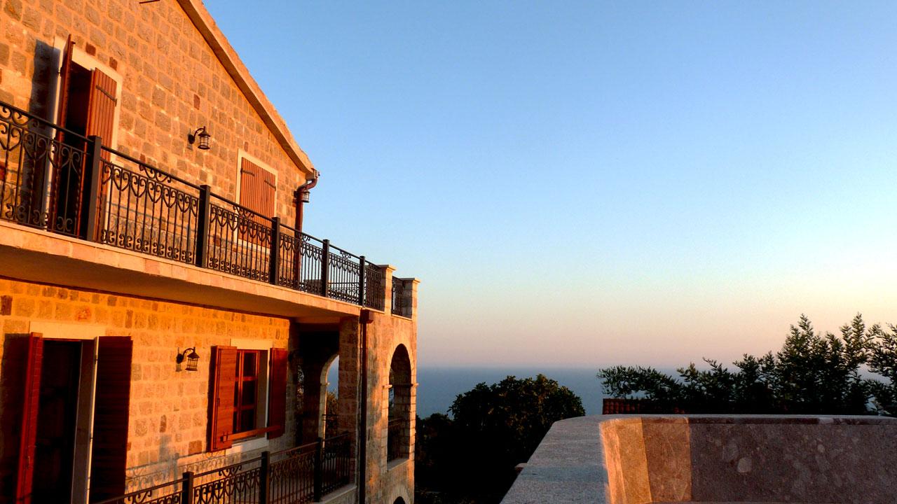 Villa au Monténégro avec vue mer