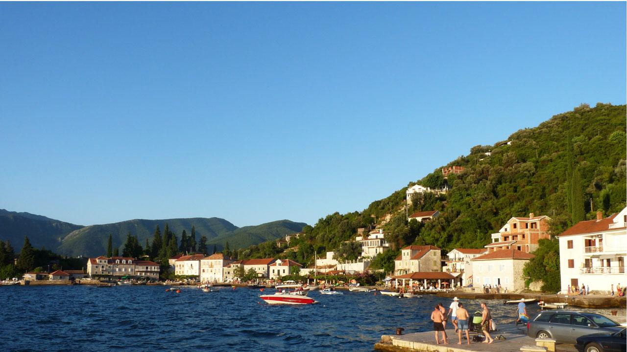 La baie de Tivat - Monténégro