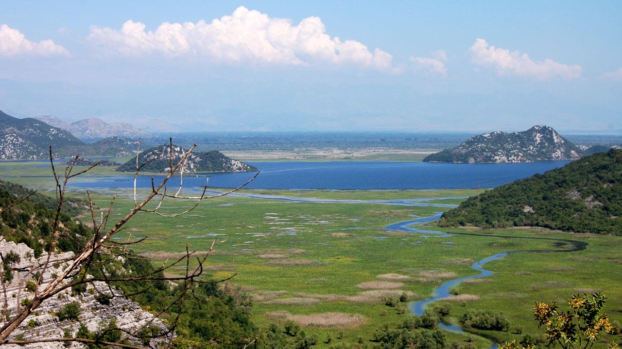 Lac skadar au monténégro