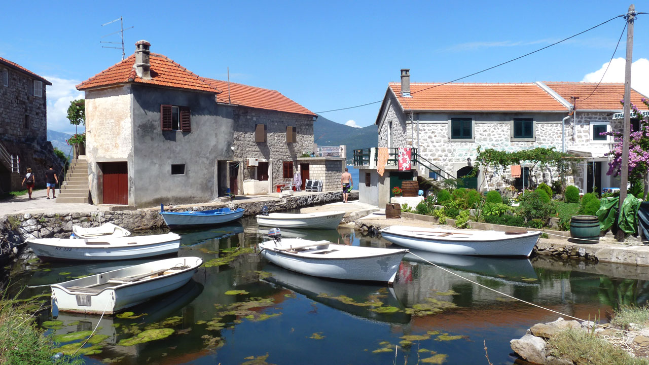 Village de pêcheurs - Perast