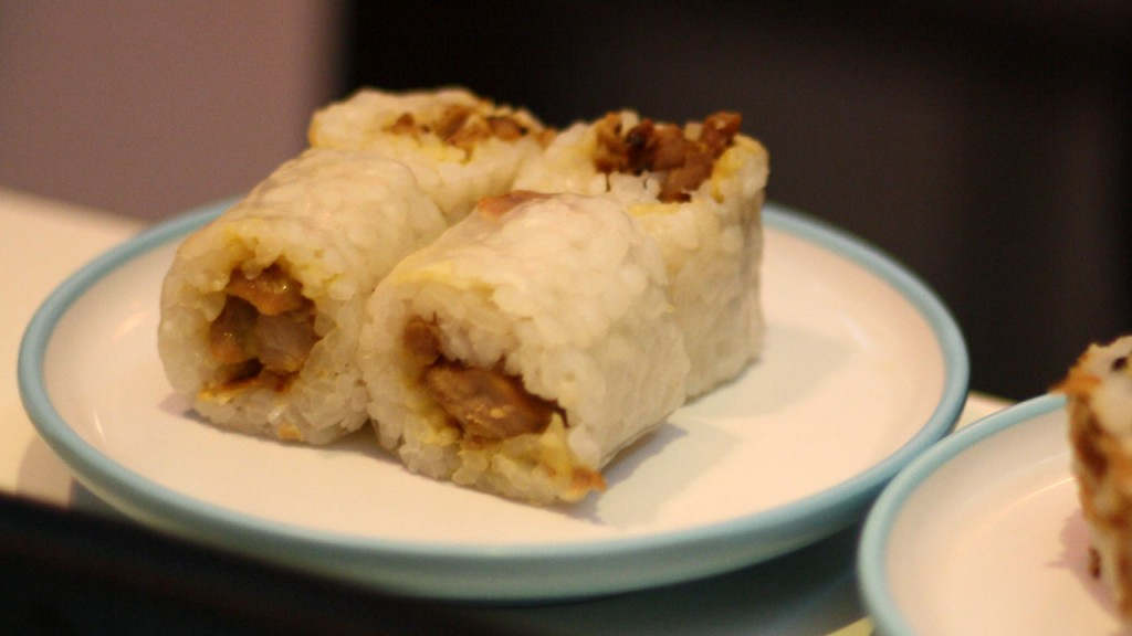 Maki Mustard Eat Sushi