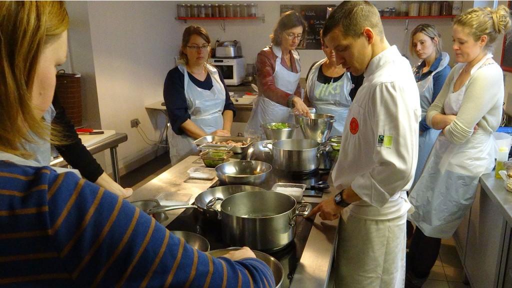 Mamzelle Laura cuisine à l'Atelier des Chefs