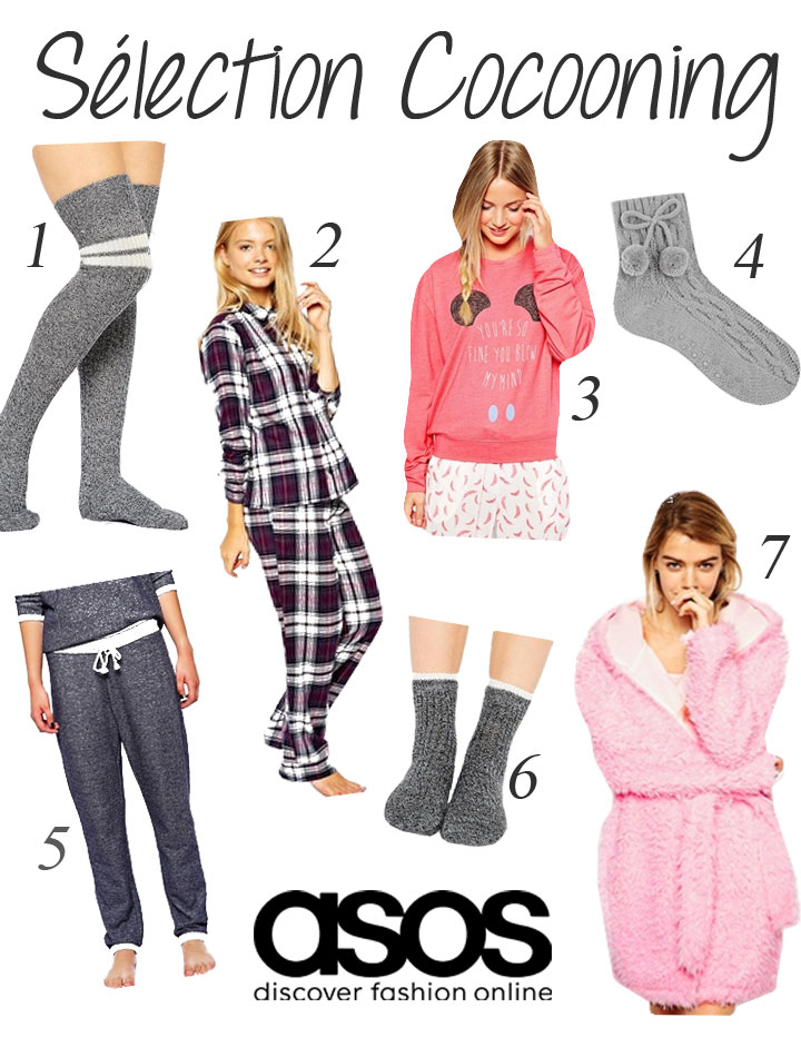 Sélection shopping cocooning sur Asos