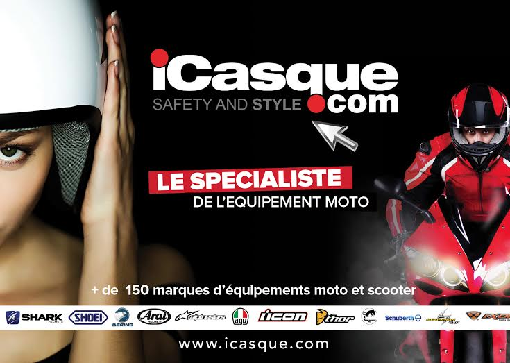 iCasque équipement moto