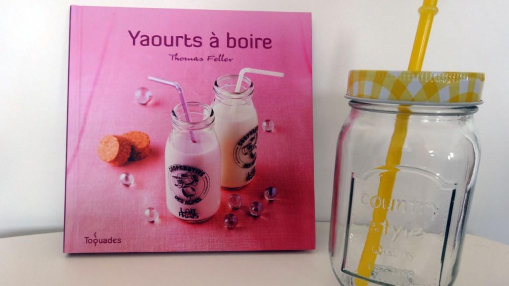 Mason Jar et livre de recette Yaourts à boire