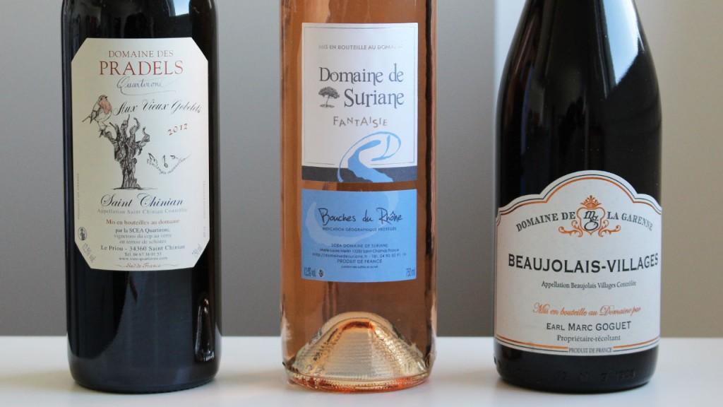 Bouteilles de vins Vineabox