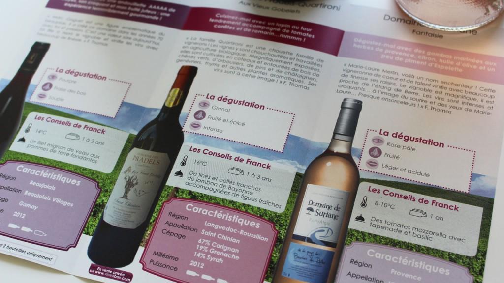 Conseil dégustation vin