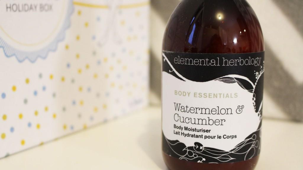 Lait hydratant Elemental Herbology