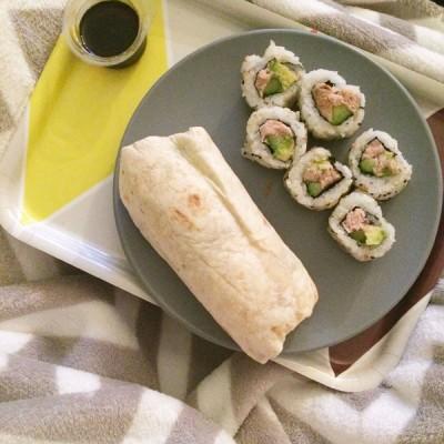 Sushis et Wrap