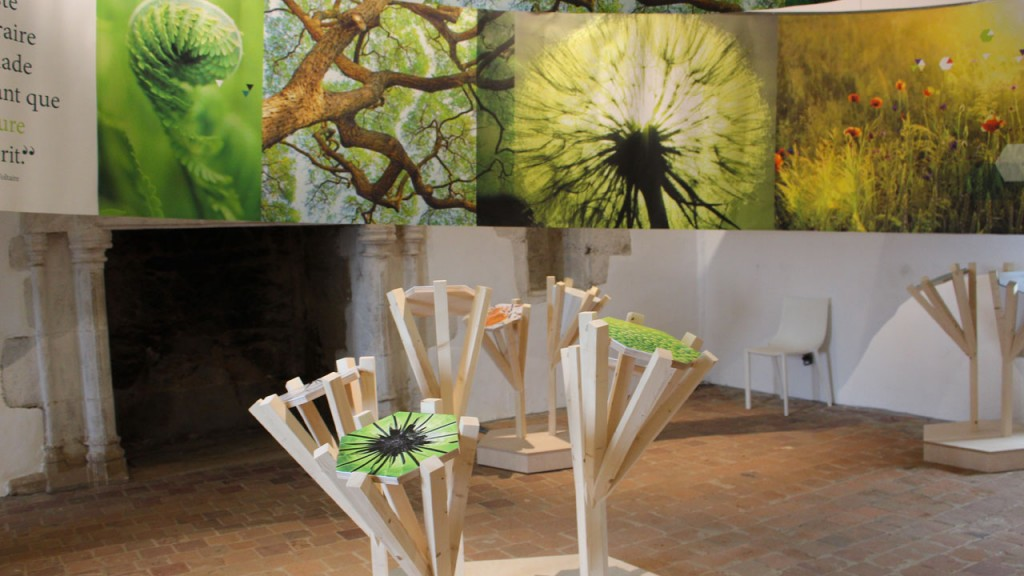 Exposition à la Roche Jagu