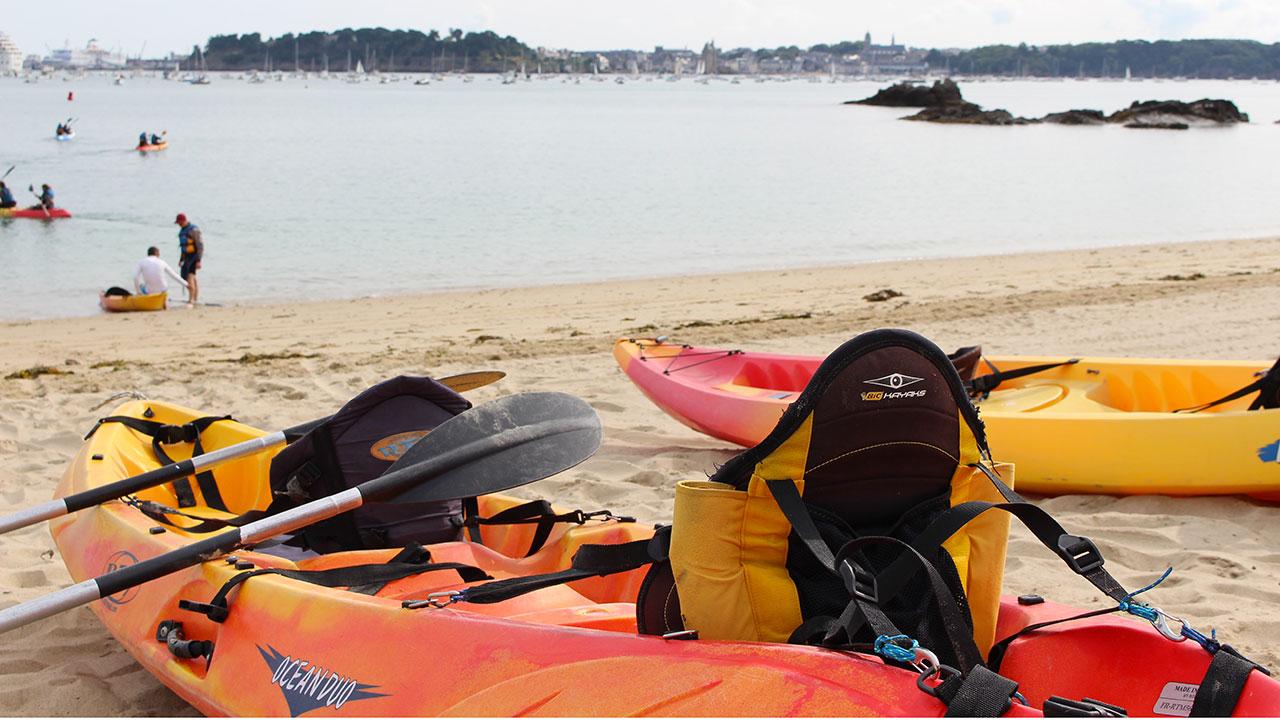 Balade Kayak Dinard