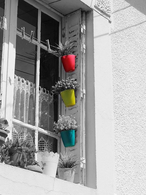 Fenêtre colorée Cancale