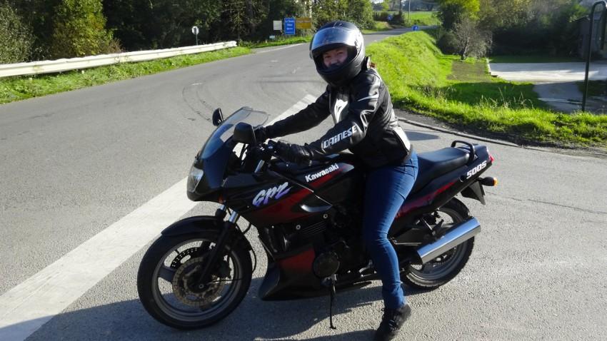 Moto GPZ 500