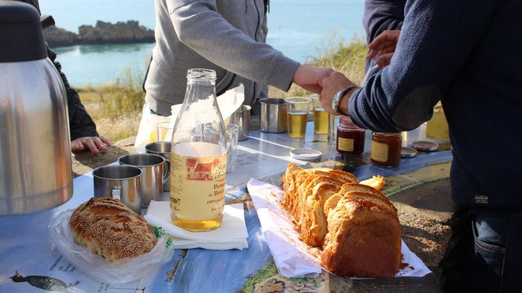 Petit déjeuner panoramique