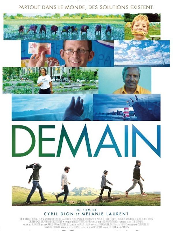Affiche film Demain de Mélanie Laurent