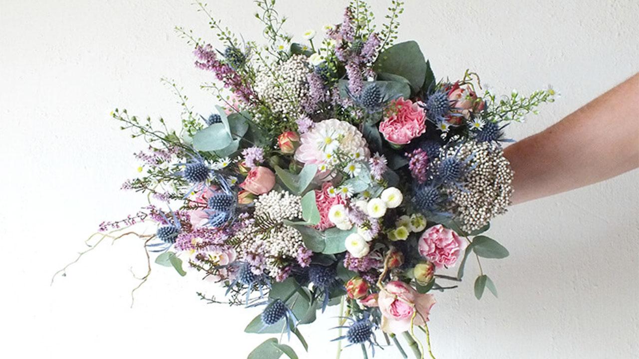 Bouquet fleurs emilijolie for Bouquet de fleurs raiponce