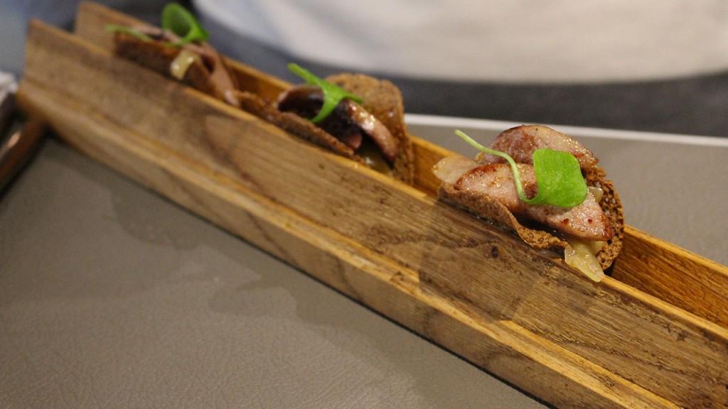 Galette saucisse revisitée - Brunch de l'hôtel Balthazar à Rennes