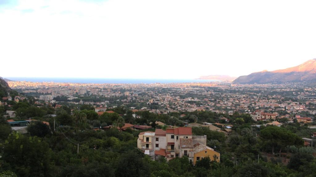 Vue sur Palerme depuis Monreale