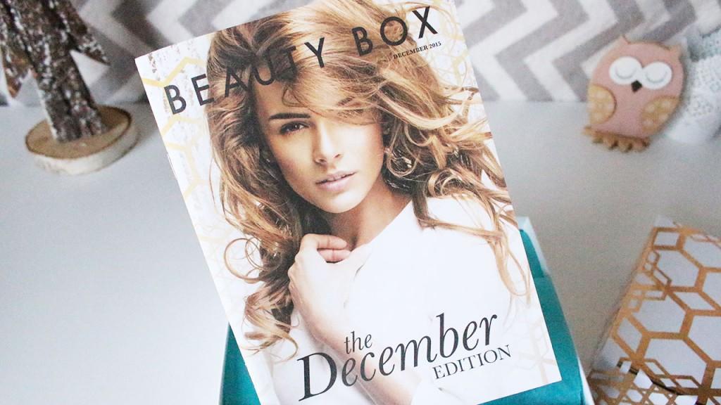 Beauty box look fantastic décembre 2015