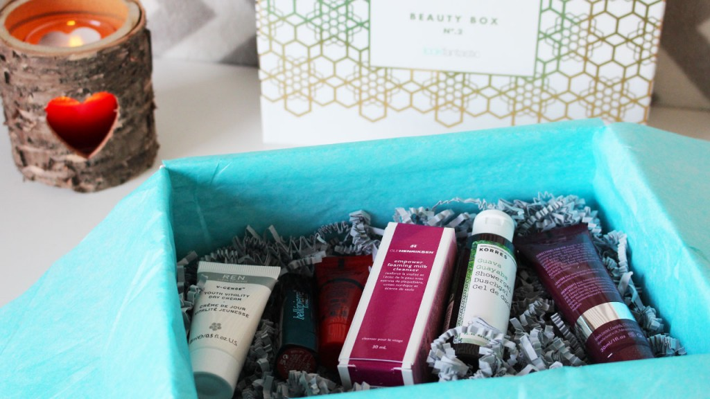 Beauty box Look Fantastic Novembre 2015