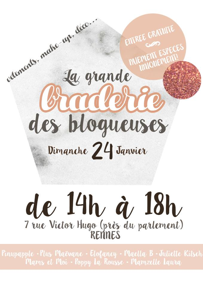vide dressing rennes la braderie des blogueuses. Black Bedroom Furniture Sets. Home Design Ideas