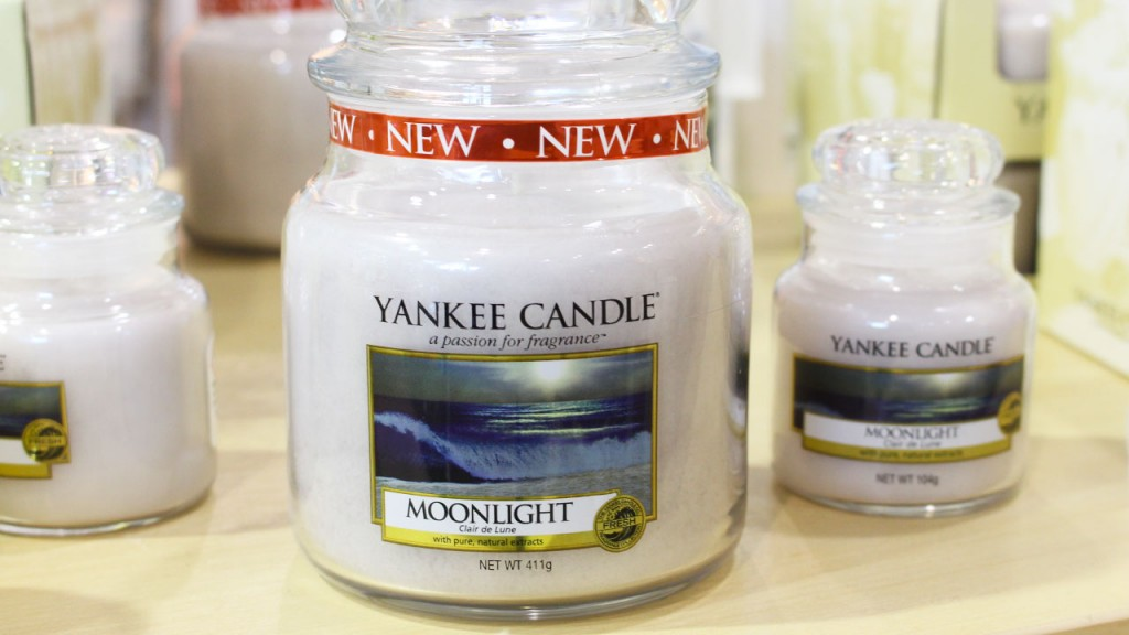 Bougie Yankee Candle Moonlight