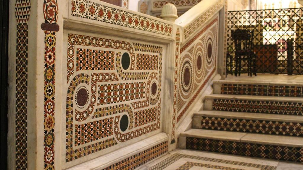 Chapelle Palatine mosaïque