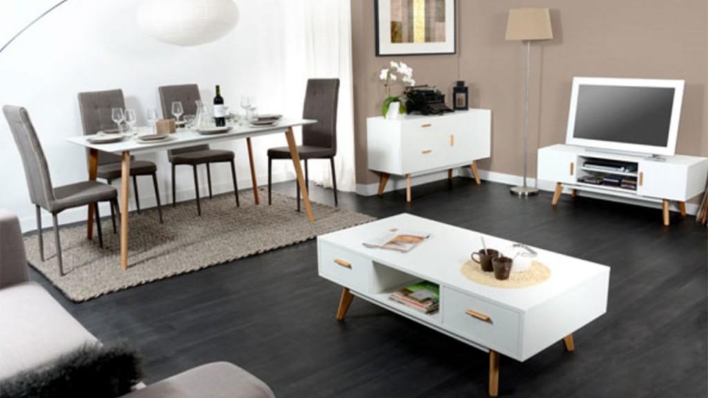 Inspiration d co de salle manger avec basika - Deco scandinave en ligne ...