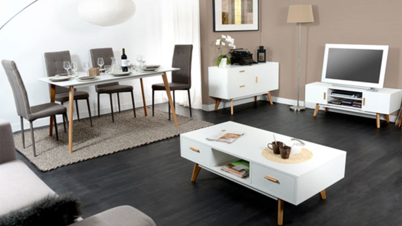 inspiration d co de salle manger avec basika. Black Bedroom Furniture Sets. Home Design Ideas