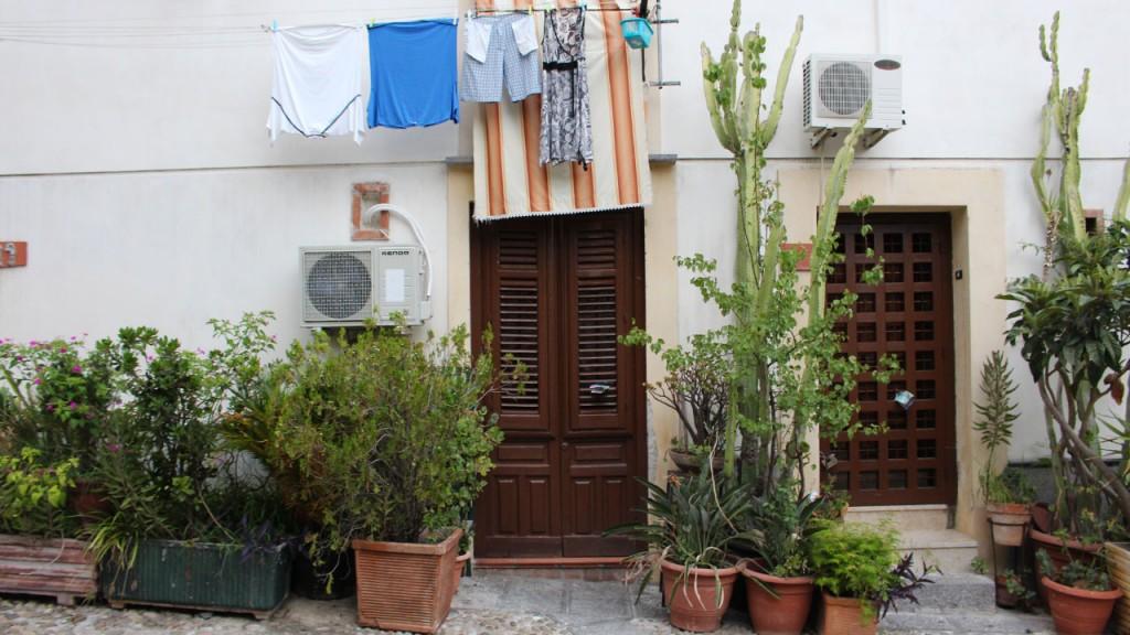 maison typique de Sicile
