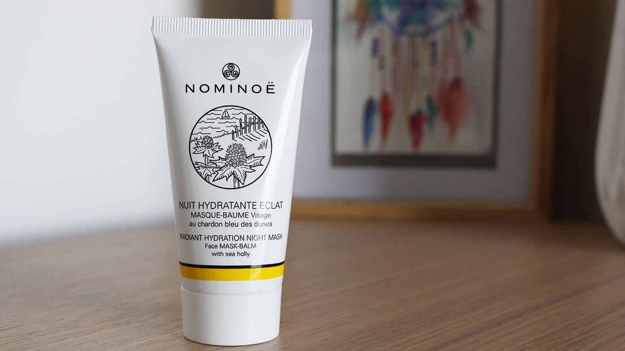 Masque nuit hydratant Nominoë