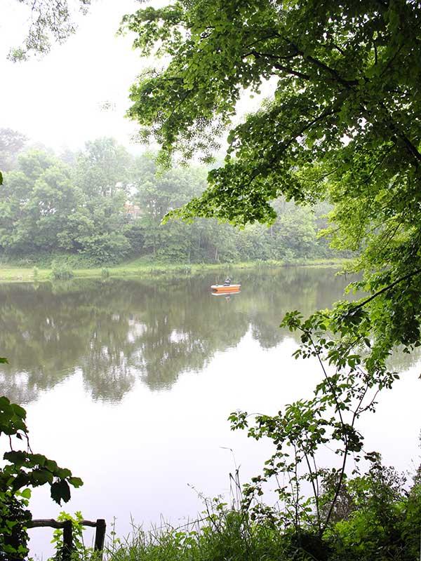 Etang moisdon la rivière