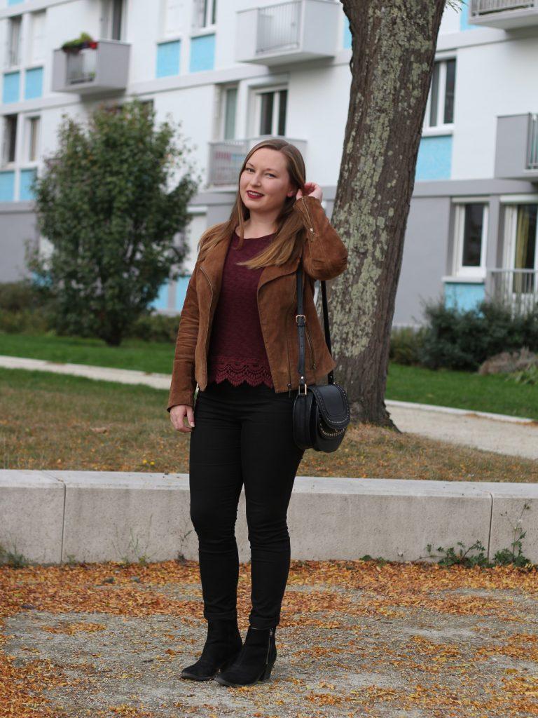 look mode bordeaux