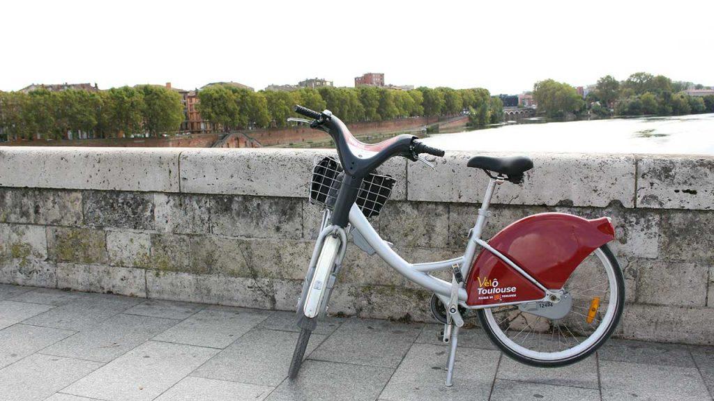 Visiter Toulouse à vélo