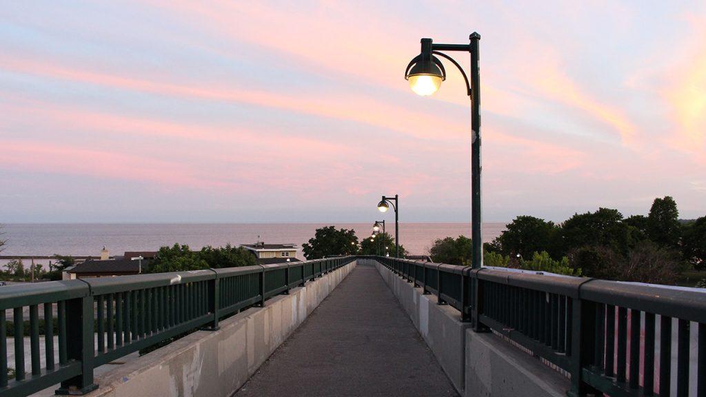 coucher soleil toronto