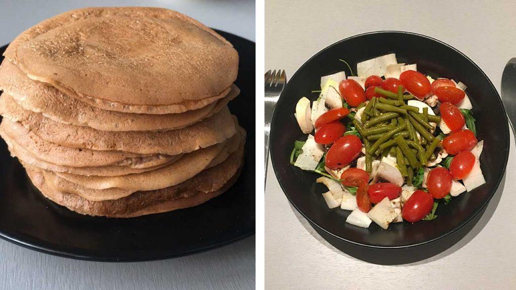 repas sain équilibré