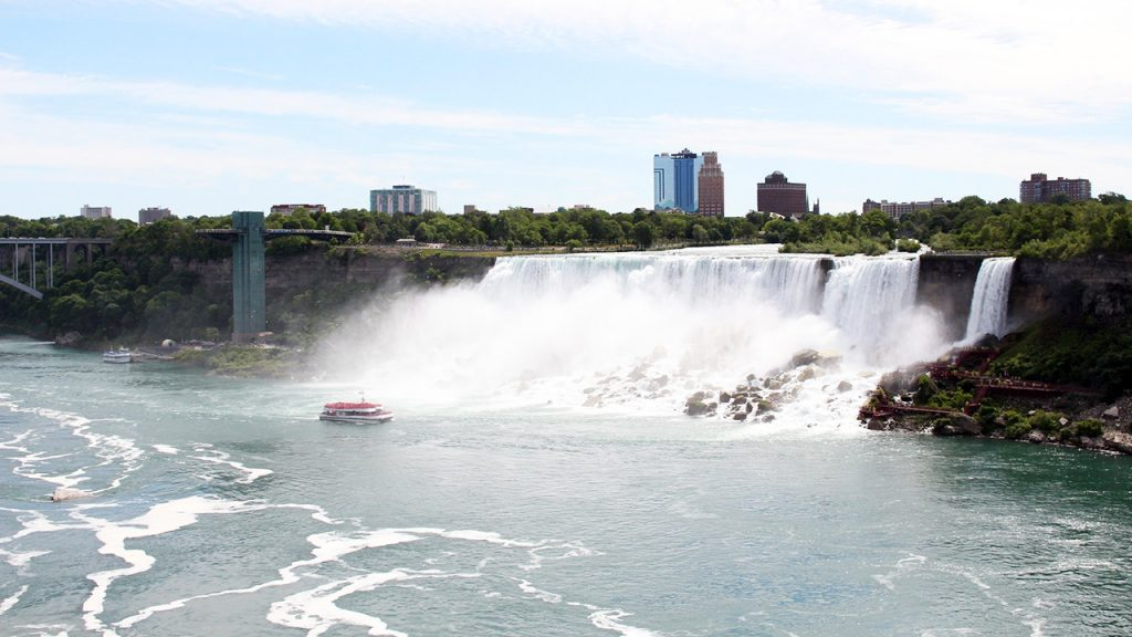 excursion bateau chutes niagara