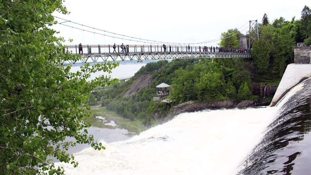 pont chute montmorency